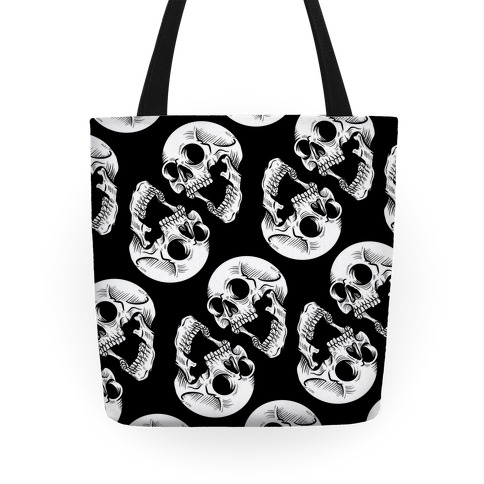 Skull Pattern  Tote
