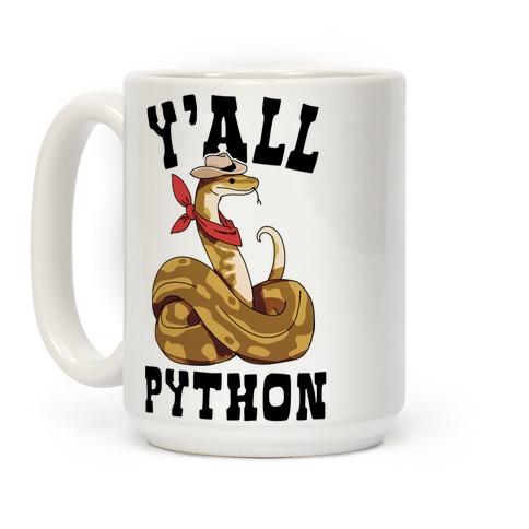 Ya'll Python Coffee Mug