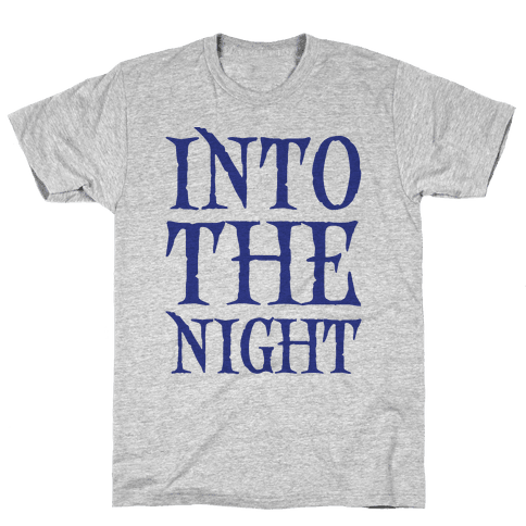 Into The Night Parody Mens T-Shirt