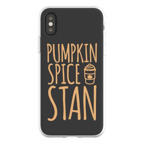 Pumpkin Spice Stan Phone Flexi-Case