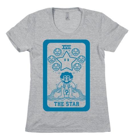 The Star Tarot Womens T-Shirt
