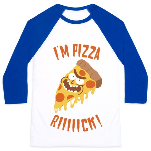 I'M PIZZA RICK! Baseball Tee