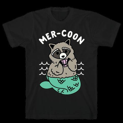 Mer-Coon Mens T-Shirt