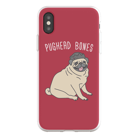 Pughead Bones Phone Flexi-Case