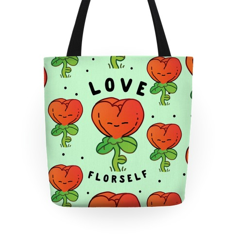 Love Florself Tote