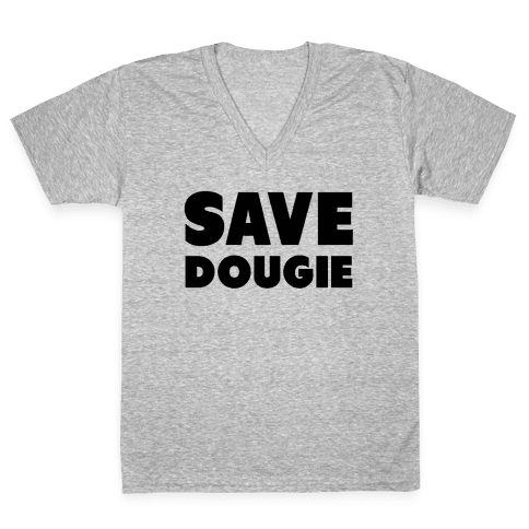 Save Dougie V-Neck Tee Shirt
