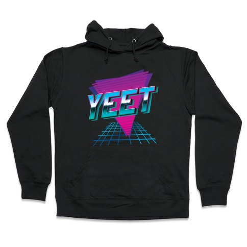 Retro YEET Hooded Sweatshirt
