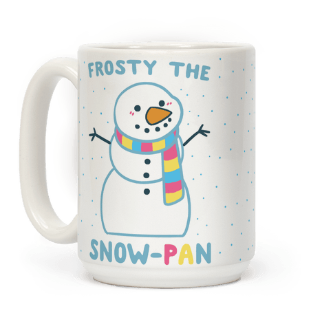 Frosty the Snow-Pan Coffee Mug