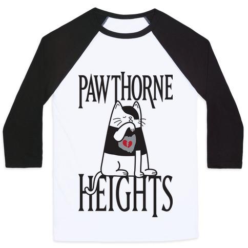 Pawthorne Heights Baseball Tee