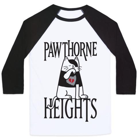 Pawthorne Heights Baseball Tee