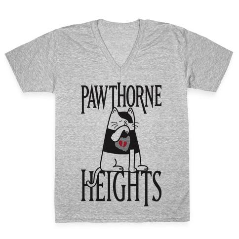 Pawthorne Heights V-Neck Tee Shirt