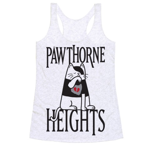 Pawthorne Heights Racerback Tank Top