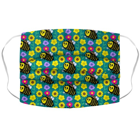I'm A Gardener Bee Accordion Face Mask