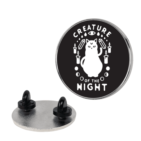 Creature of the Night Pin