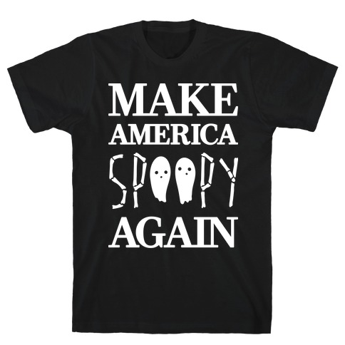 Make America Spoopy Again (White) Mens T-Shirt