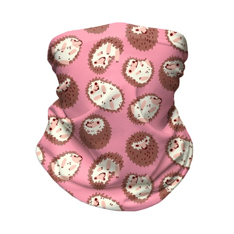 Floaty Hedgehogs Neck Gaiter