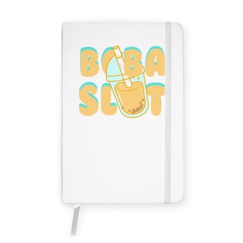 Boba Slut (orange) Notebook
