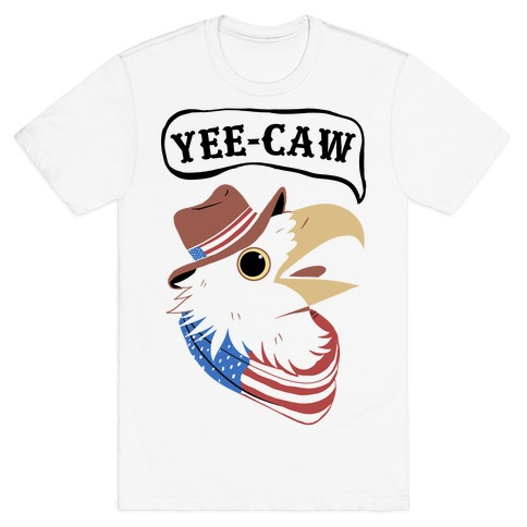 YEE-CAW American Bald Eagle T-Shirt