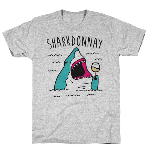 Sharkdonnay Mens T-Shirt