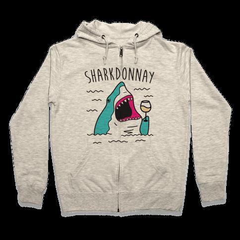 Sharkdonnay Zip Hoodie
