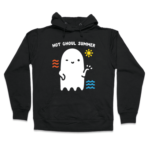 Hot Ghoul Summer Hooded Sweatshirt