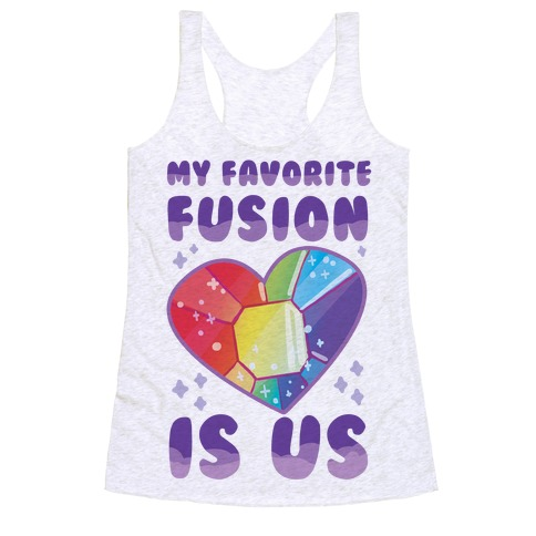 My Favorite Fusion is Us Racerback Tank Top