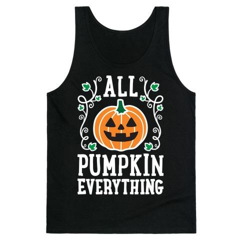 All Pumpkin Everything Tank Top