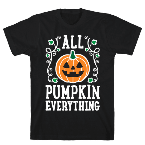 All Pumpkin Everything Mens T-Shirt