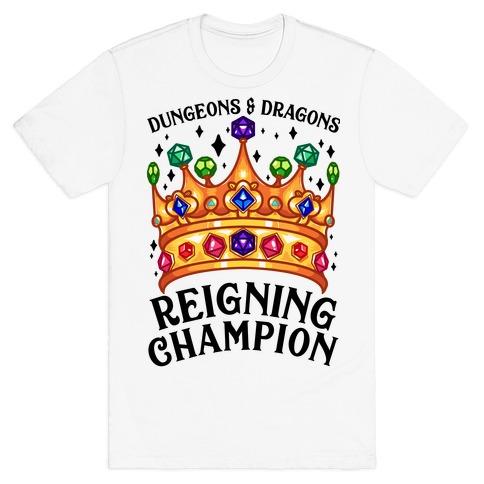 Dungeons & Dragons Reigning Champion T-Shirt