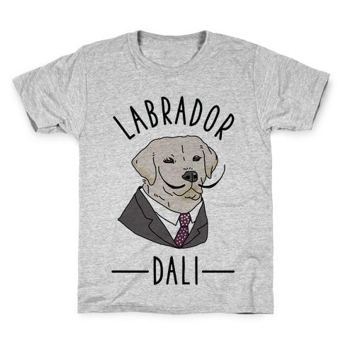 Labrador Dali Kids T-Shirt