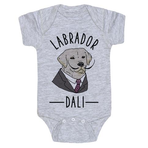 Labrador Dali Baby Onesy