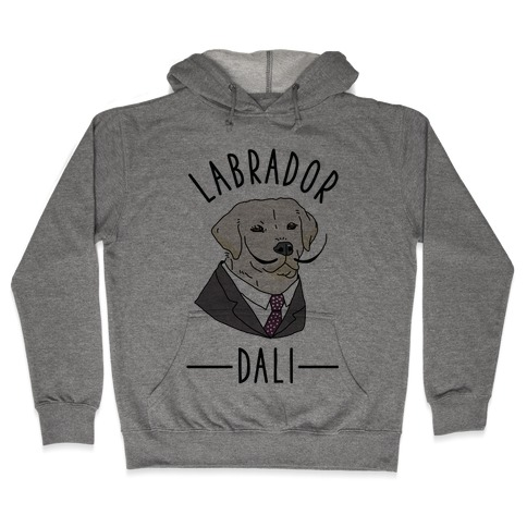 Labrador Dali Hooded Sweatshirt