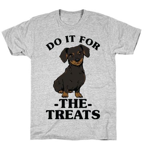 c1f7fcfc Do It For The Treats Dachshund T-Shirt