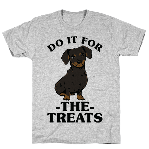 Do It For The Treats Dachshund Mens T-Shirt