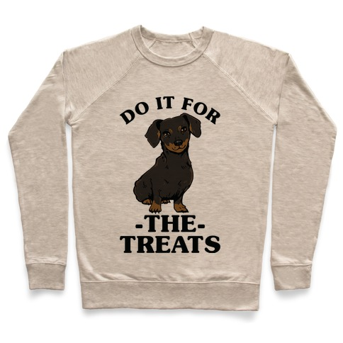 Do It For The Treats Dachshund Pullover