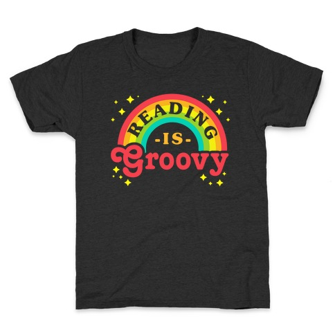 Reading is Groovy Kids T-Shirt