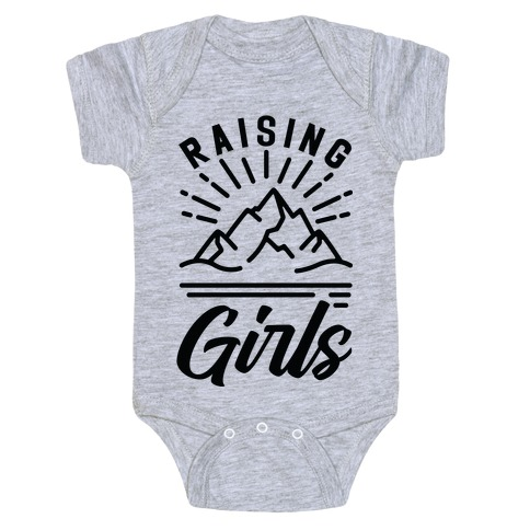Raising Girls Baby Onesy