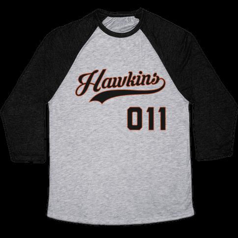 Hawkins Baseball Baseball Tee