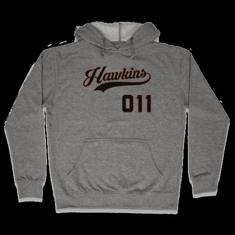 Hawkins Baseball Hooded Sweatshirt