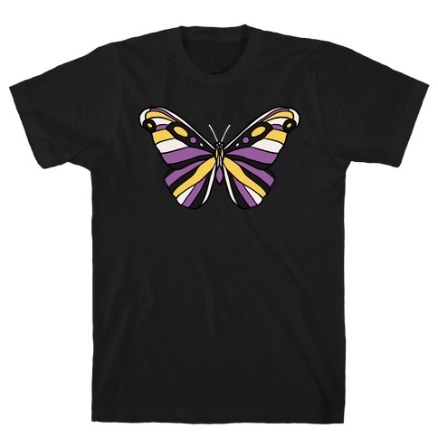 Non-binary Butterfly T-Shirt