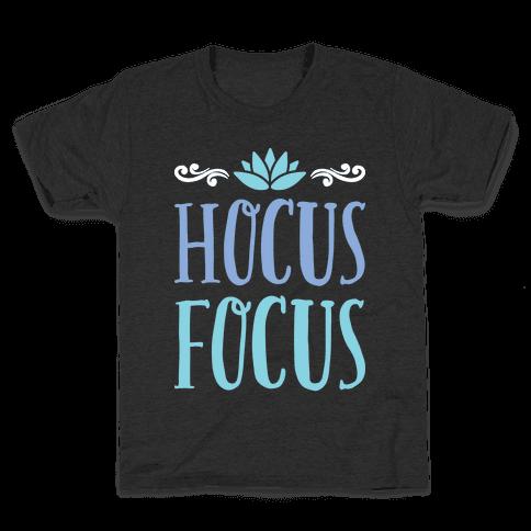 Hocus Focus Yoga Kids T-Shirt