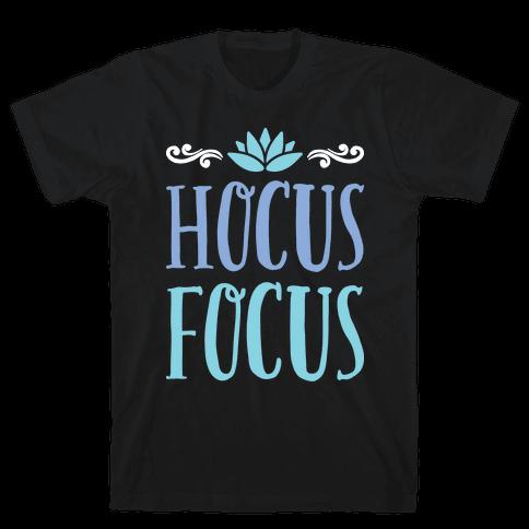 Hocus Focus Yoga Mens T-Shirt