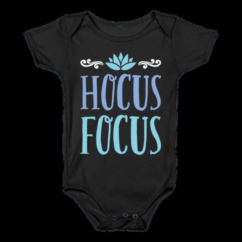 Hocus Focus Yoga Baby Onesy