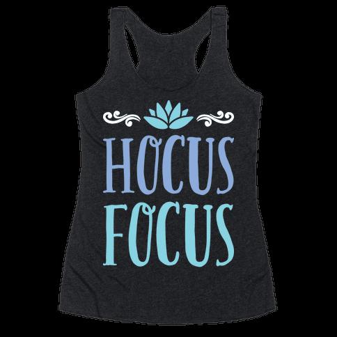 Hocus Focus Yoga Racerback Tank Top