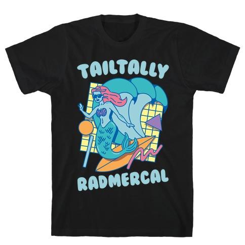 Tailtally Radmercal White Print T-Shirt