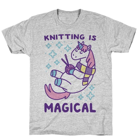 Knitting is Magical T-Shirt