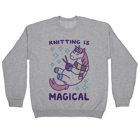 Knitting is Magical Pullover