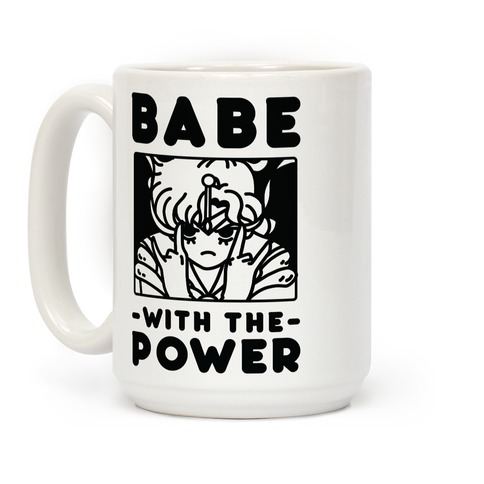 Babe With the Power Sailor Jupiter Coffee Mug