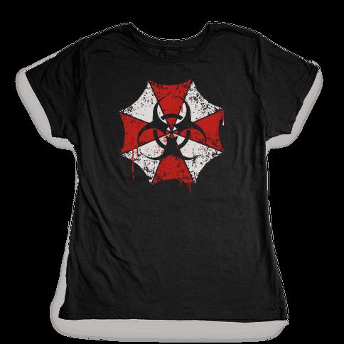 Umbrella Corp / Biohazard Womens T-Shirt