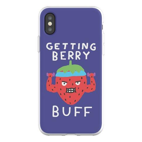 Getting Berry Buff Phone Flexi-Case
